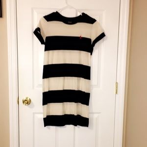 Dresses & Skirts - Navy and White polo tshirt dress